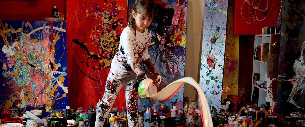 child painting creativity styles