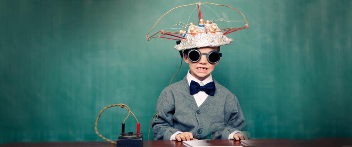 mad scientist kid creativity styles