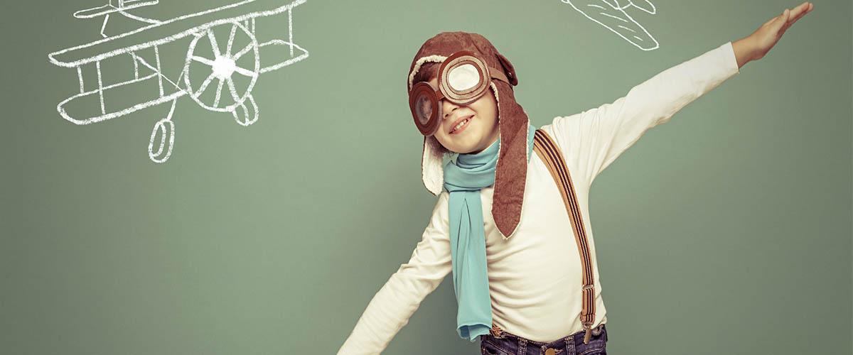 flying boy creativity styles