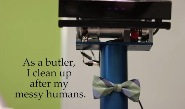 creative robot butler
