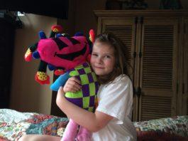 huggable stuffed animal