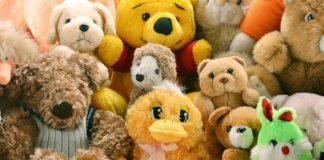clean stuffed animals