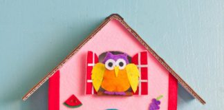 how to make a cuckoo clock out of cardboard