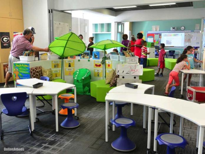 modern classroom design ideas