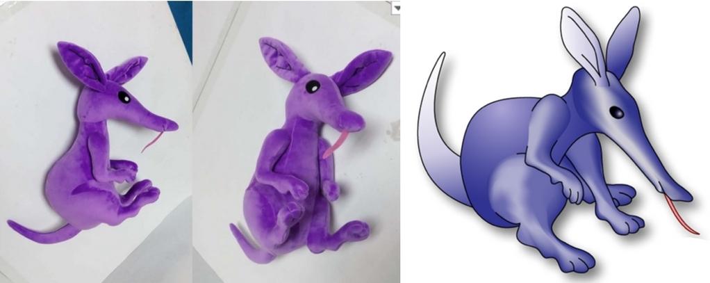Apple Anteater custom made corporate mascots