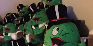 custom made corporate mascots fish