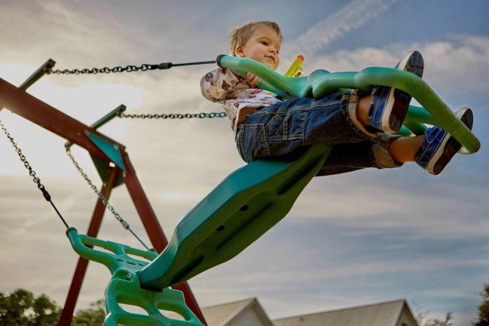 diy backyard playground ideas for boys