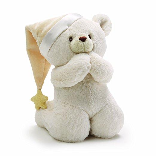 gund prayer bear stuffed animal gifts
