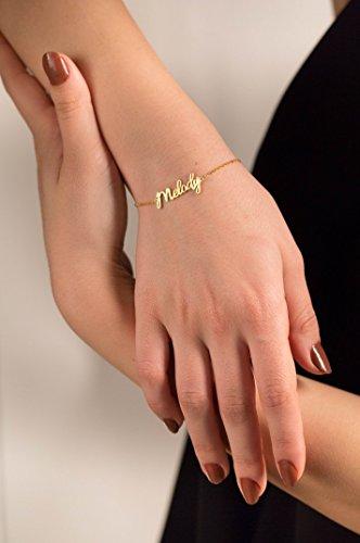 custom christmas gifts for her custom name bracelet