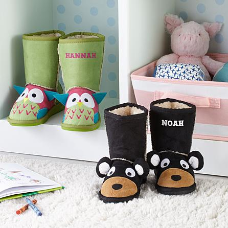 personalized christmas gifts for kids character slippers
