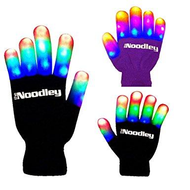 finger light up glove geeky stocking stuffers for children