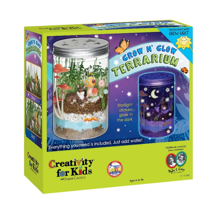 glow terrarium geeky stocking stuffers for children