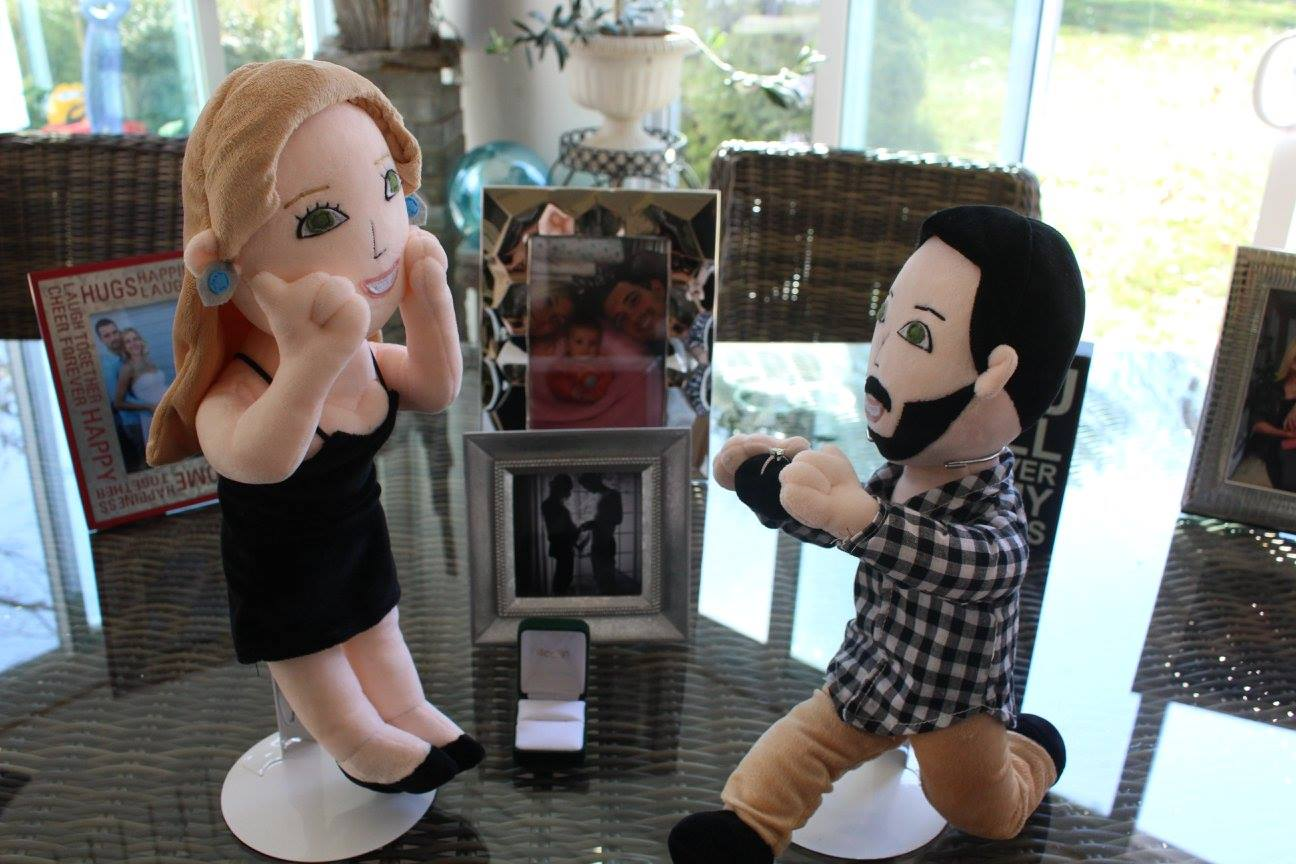 marriage proposal gift