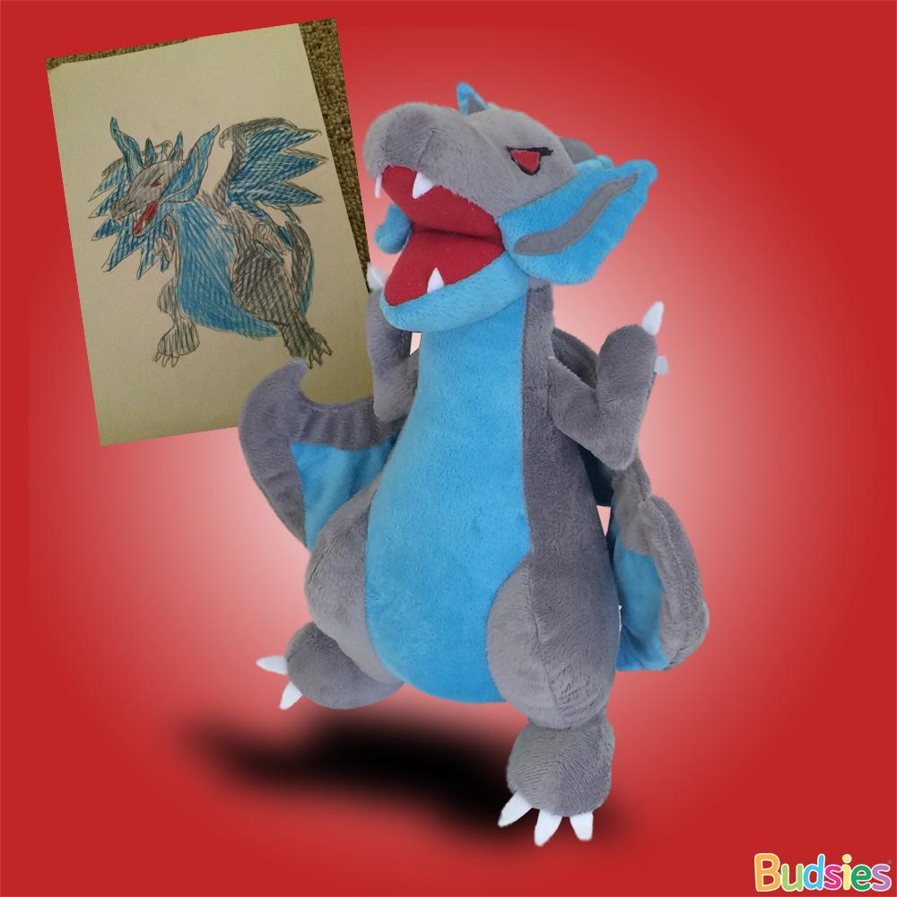 how to make a stuffed dragon 2