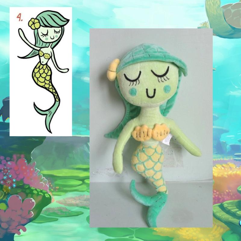 Custom Mermaid Plushie