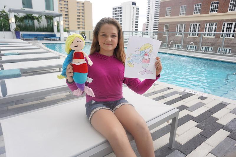 Kids love mermaid stuffed animals