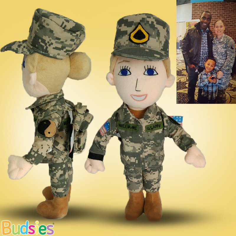 Get a Custom Mommy Doll of Deployed Soldier