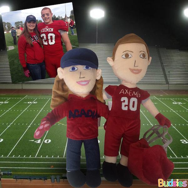 custom sports dolls