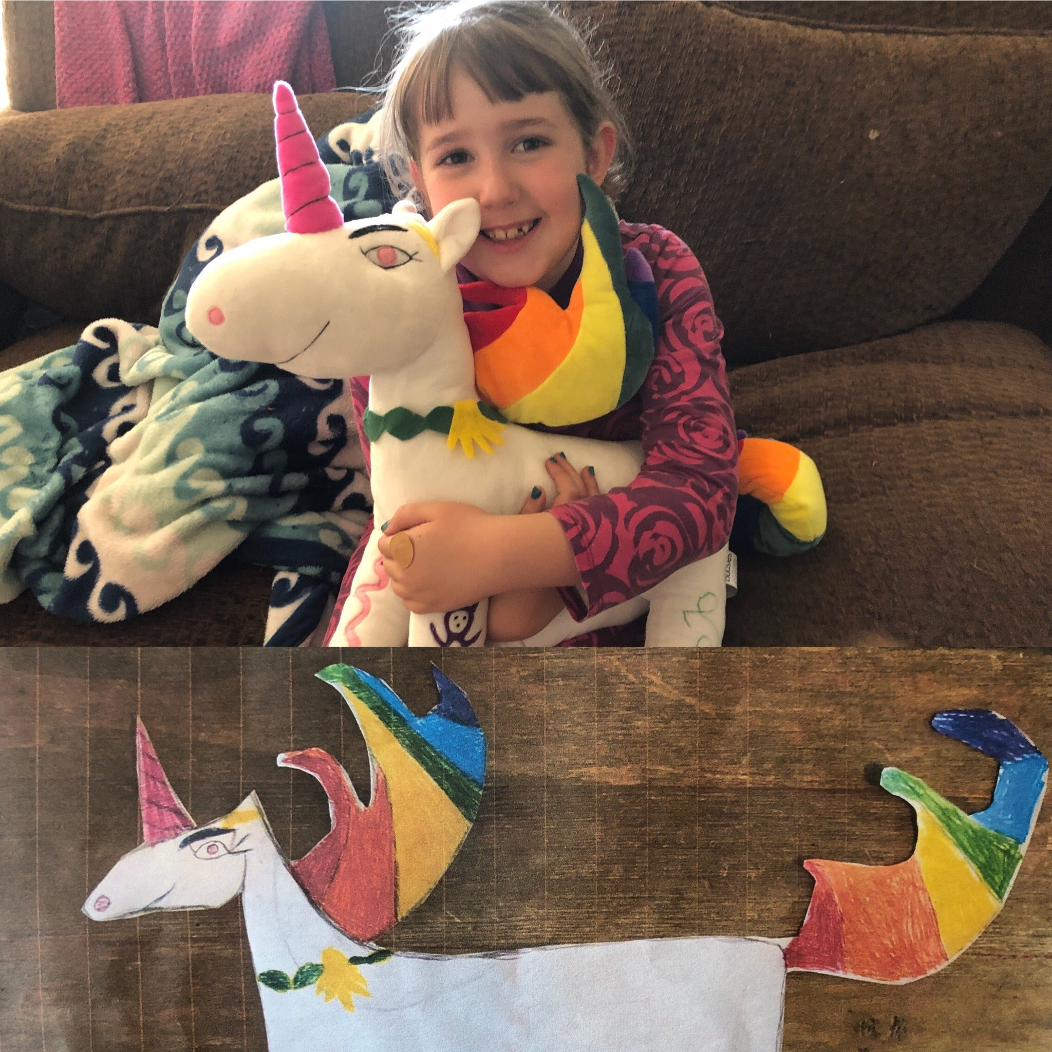 unicorn custom plushie