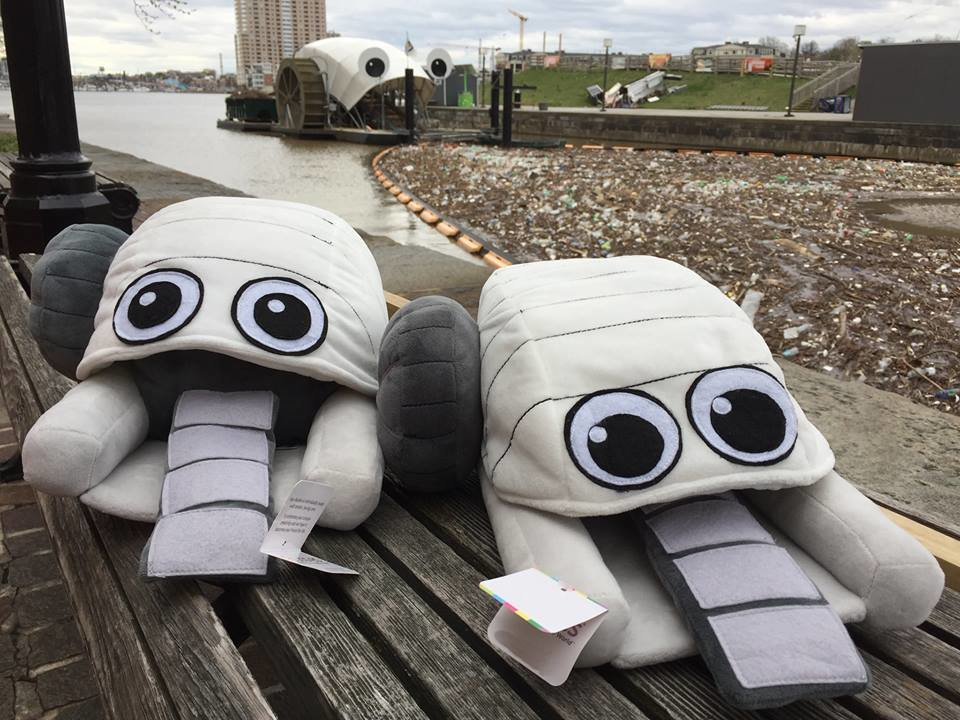 Mr. Trash Wheel Plushie