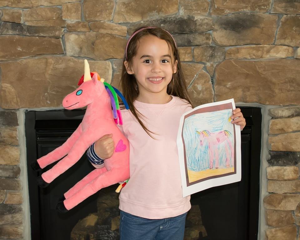 unicorn custom stuffed animal