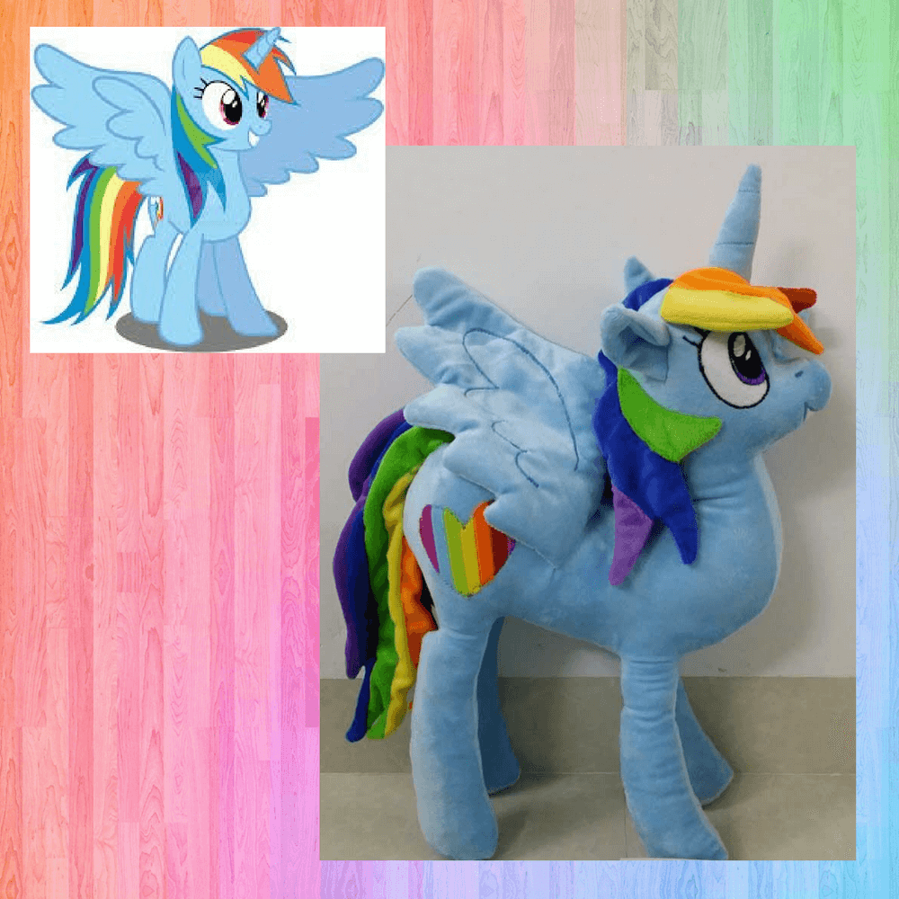 Plush my little pony