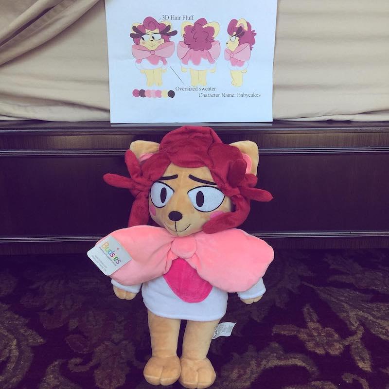 custom character stuffed animals