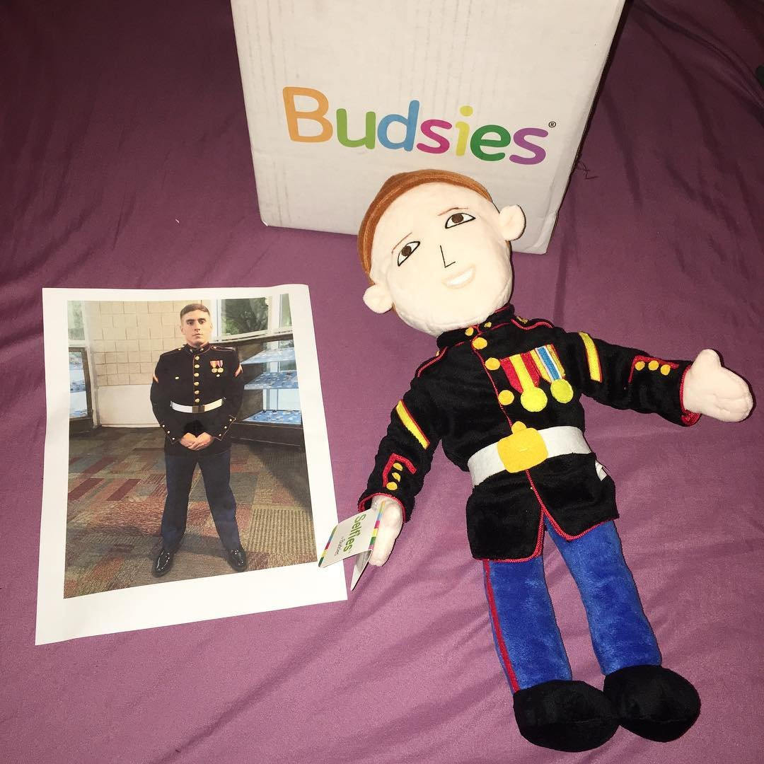 Military Man Plush Doll