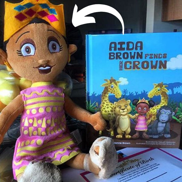 The Book of Aida Plushie