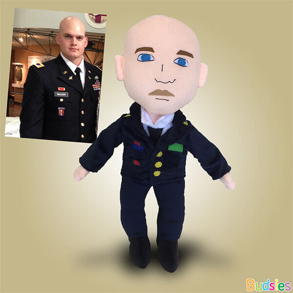 army plush doll