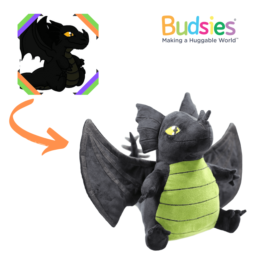 baby dragon stuffed animal
