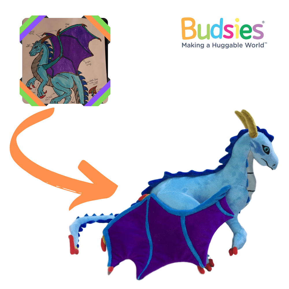 blue dragon stuffed animals