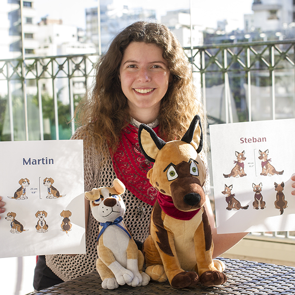 turn drawings into custom stuffed animals