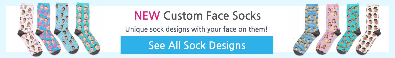 custom socks with your face