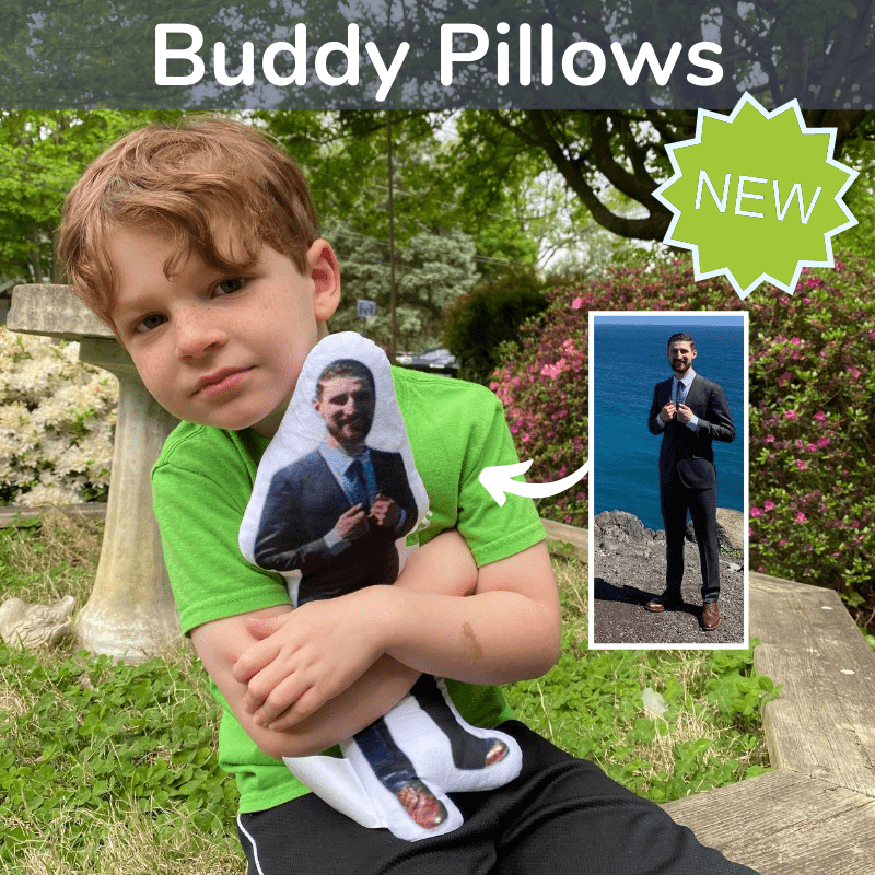 turn photos of people into pillows