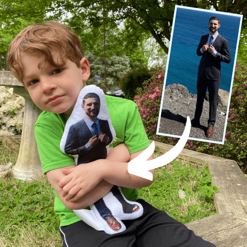 custom dad pillow doll