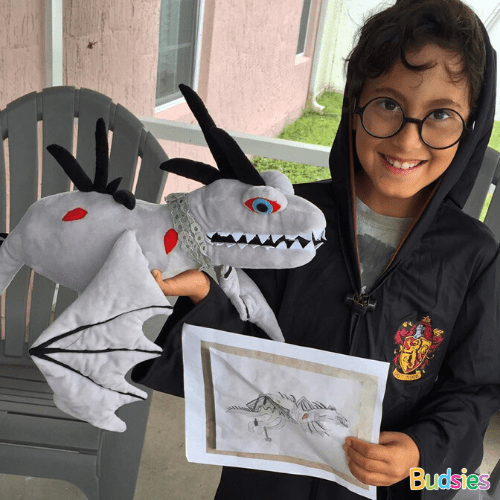 create your own dragon stuffed animal
