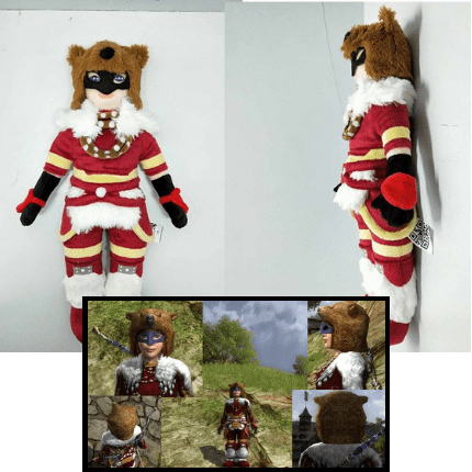 custom video game character stuffed animal