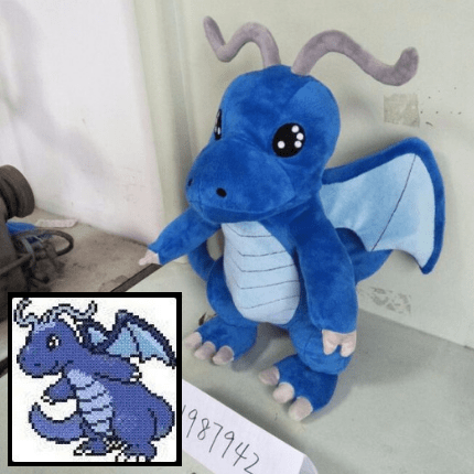 custom video game stuffed animal