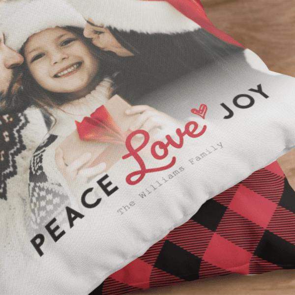 custom photo pillow gift christmas