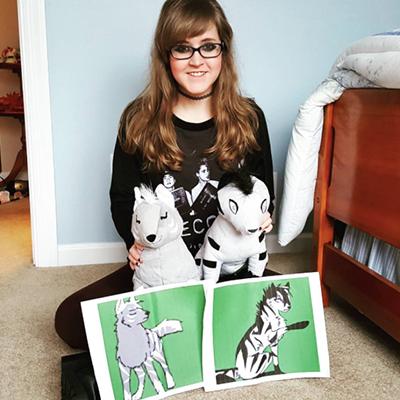 turn drawings into custom stuffed animals