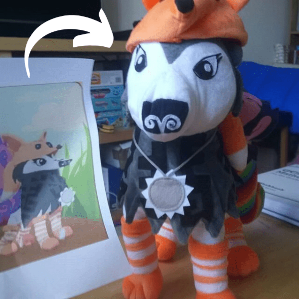 custom video game character plushies