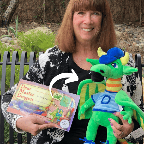 Plush of Dragon Childrens Book Budsie