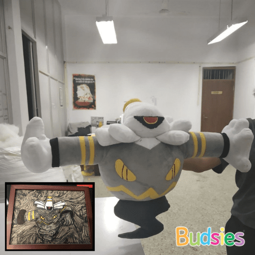 dusknoir custom stuffed plushie pokemon