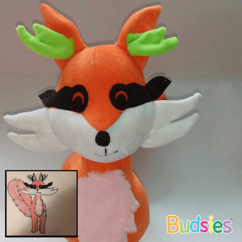charra fakemon stuffed animal