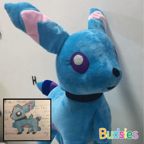 fakemon spadamin pokemon plush