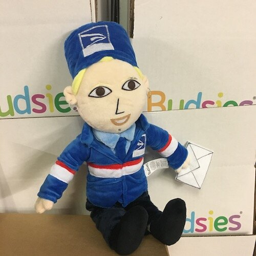 fedex worker plushie