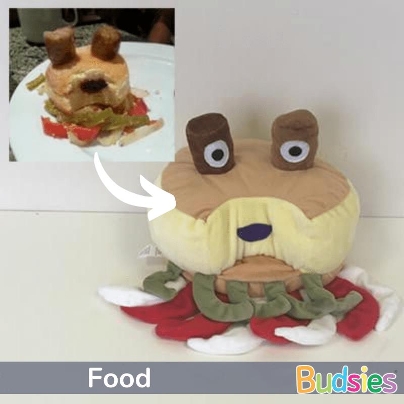 food stuffed animals