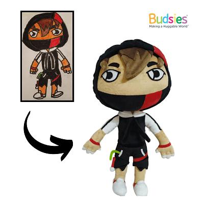 fortnite ikonik outfit stuffed animal