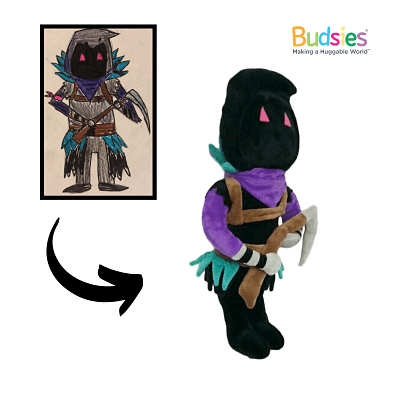 fortnite raven outfit stuffed animal